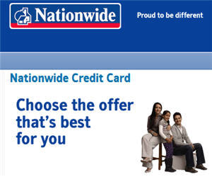 credit cards providers nationwide